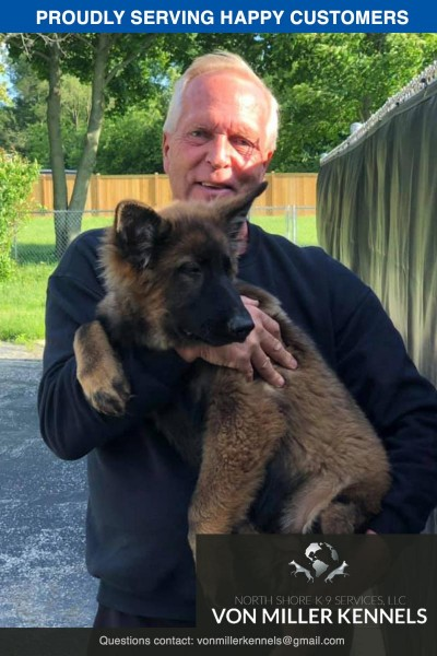 Congratulations to Retired Officer Glen on his new Von Miller puppy !!!-2